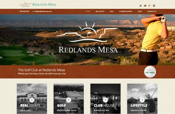 Golf Course Web Design Colorado